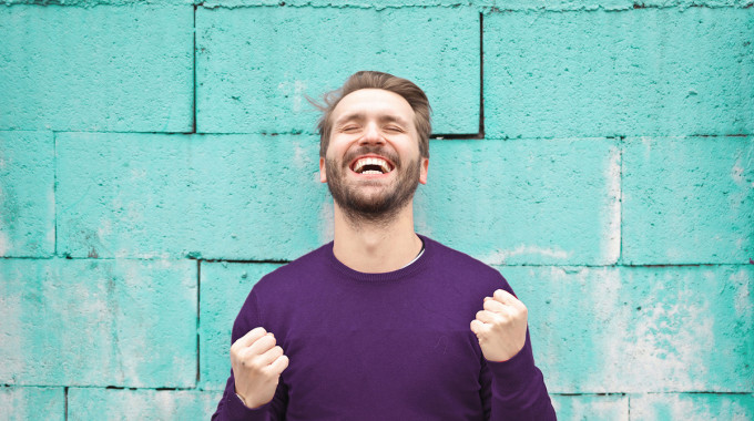 Man delighted that he got approved for a $500 loan