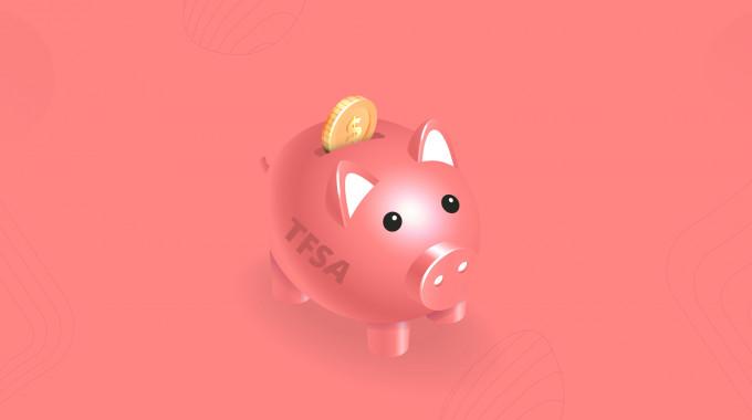 TFSA piggy bank